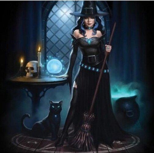 Sticker Witchs Lair