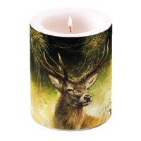 Kerze groß Stolzer Hirsch