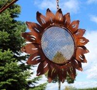 Gartendeko Sonnenblume Futterhaus